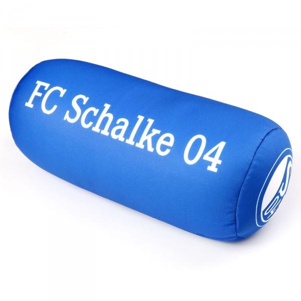 FC Schalke 04 Reisekissen Schrägansicht