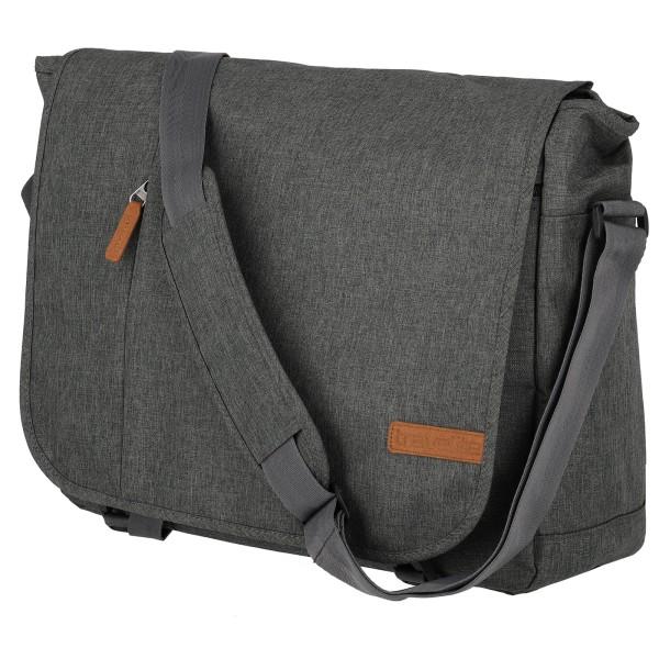 travelite Basics Messenger Tasche 40 cm anthrazit