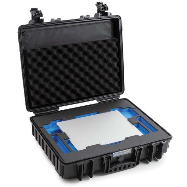 B&W Outdoor Case Typ 6040 für MacBook Pro 13 und 16 Zoll