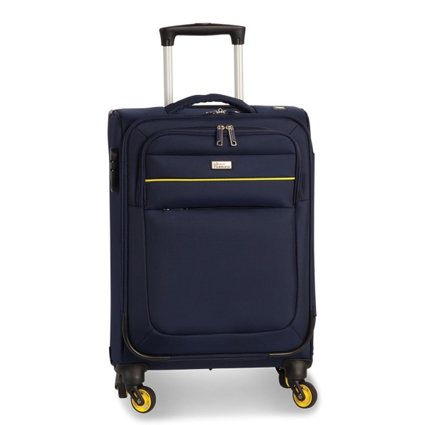 Fabrizio Worldpack District Kabinentrolley 55 cm 4 Rollen marineblau