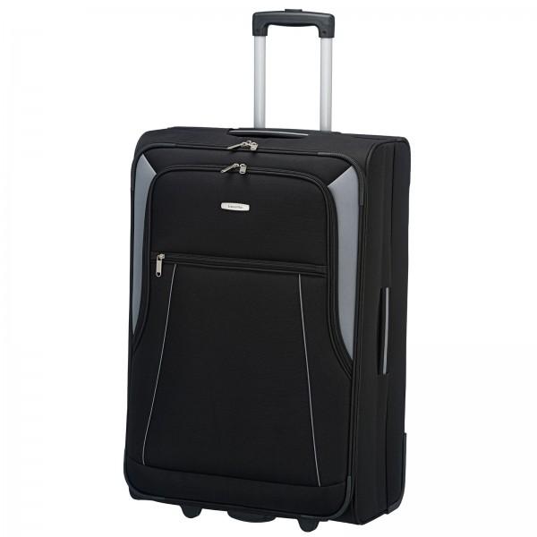 travelite Portofino Trolley 72 cm 2 Rollen schwarz Schrägansicht
