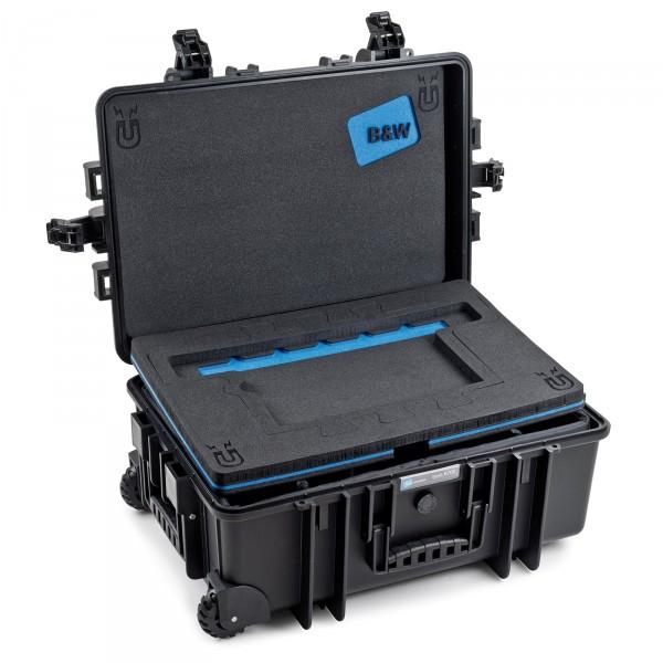 B&W Fotokoffer Typ 6700 für MacBookPro black