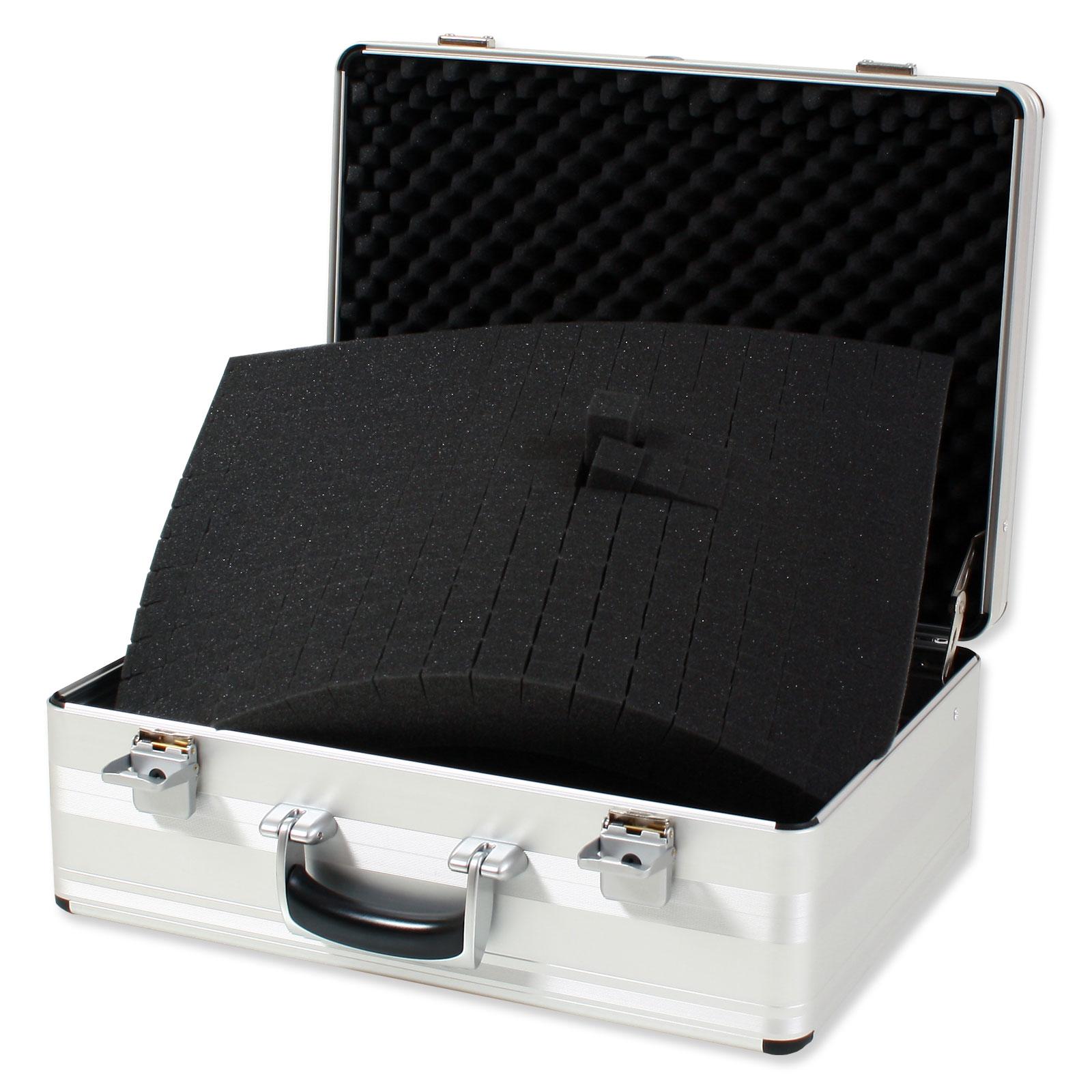 bwh koffer schaumstoffeinsatz f r alu zargenkoffer azke g nstig kaufen koffermarkt. Black Bedroom Furniture Sets. Home Design Ideas
