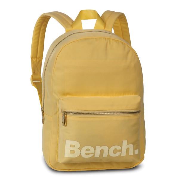 Bench City Girls Rucksack 35 cm hellgelb, creme