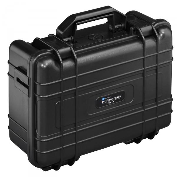 B&W Outdoor Case Typ 30 schwarz - geschlossen