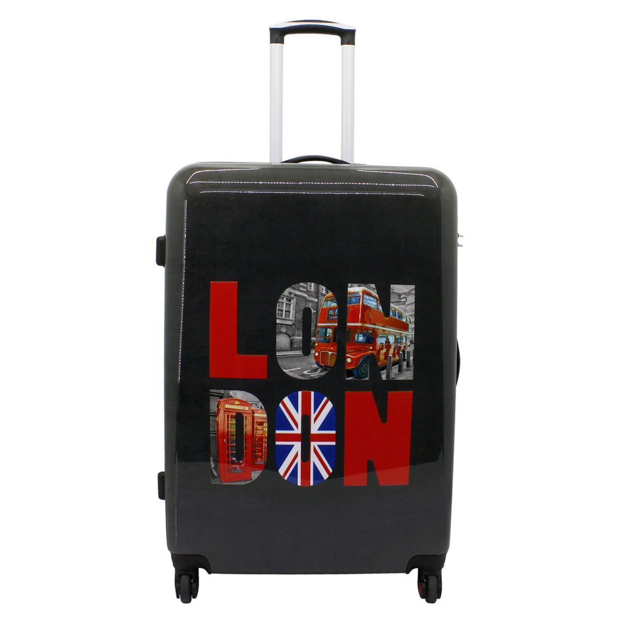 f23 voyage london trolley gro g nstig kaufen koffermarkt. Black Bedroom Furniture Sets. Home Design Ideas