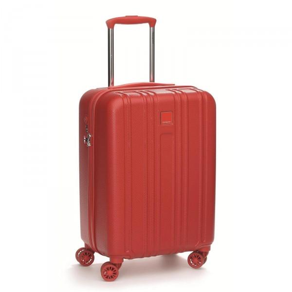 Hedgren Transit Gate Kabinentrolley 55 cm 4 Rollen tango red