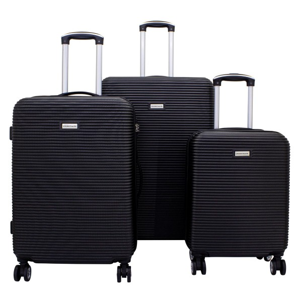 F23 Richmond 2.0 Trolley Set 55/67/76 cm 4 Rollen schwarz