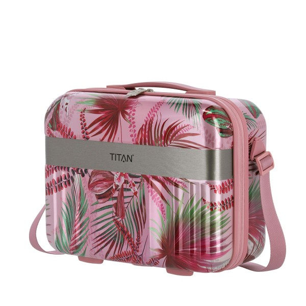 TITAN Spotlight Flash Flower Beautycase 38 cm Pink Hawaii