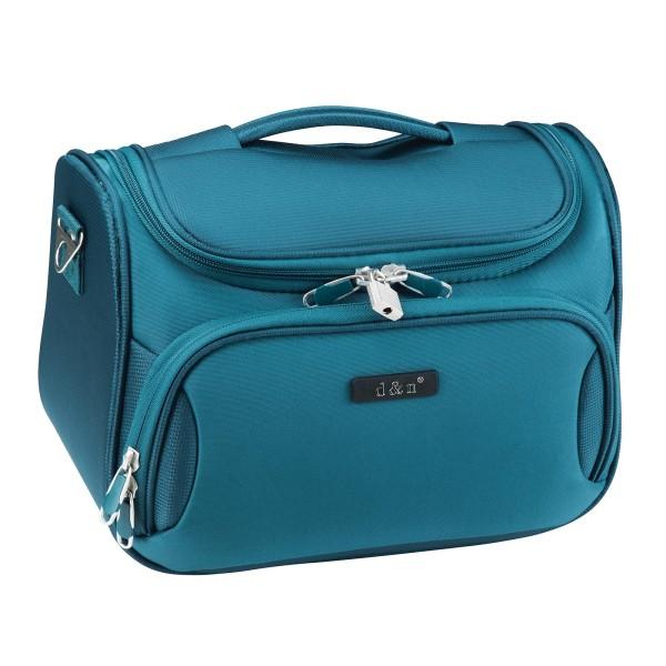 d&n Travel Line 6404 Beautycase 33 cm petrol