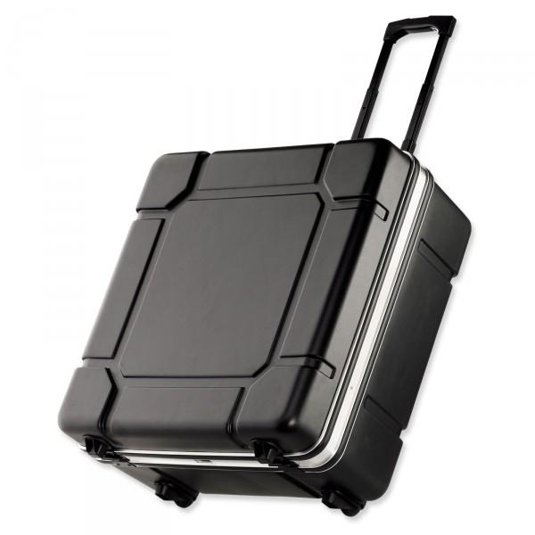 bwh Koffer Mobil-Transit Fahrradkoffer schwarz 60 cm 2 Rollen - Vorderansicht
