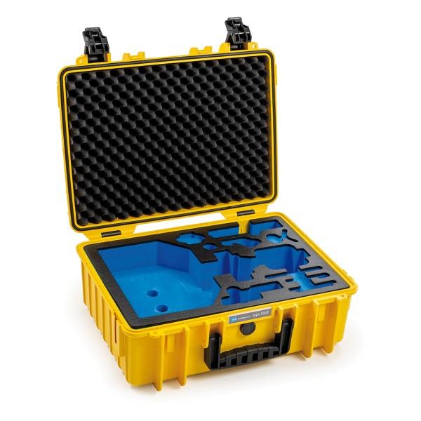 B&W Gimbel Case Typ 5000 für DJI Ronin SC yellow