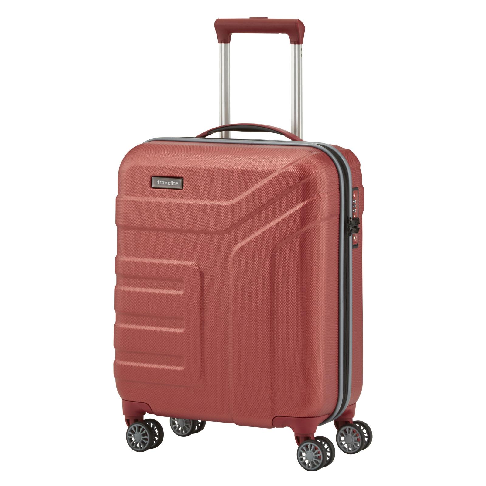 travelite vector trolley 4 rollen klein g nstig kaufen koffermarkt. Black Bedroom Furniture Sets. Home Design Ideas