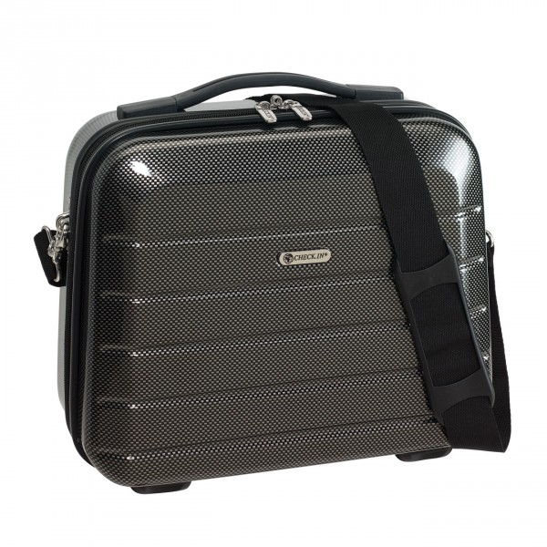CHECK.IN London 2.0 Beautycase 33 cm  black Frontansicht