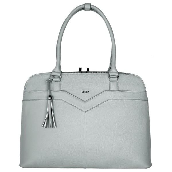 SOCHA Couture V Mud Business-Handtasche 44 cm dunkelblau