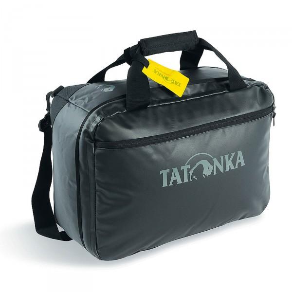 Tatonka Flight Barrel Reisetasche 50 cm schwarz Frontansicht