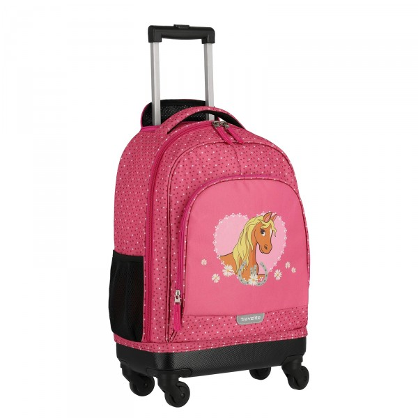 travelite Mini Trip Kindertrolley 53 cm 4 Rollen Einhorn