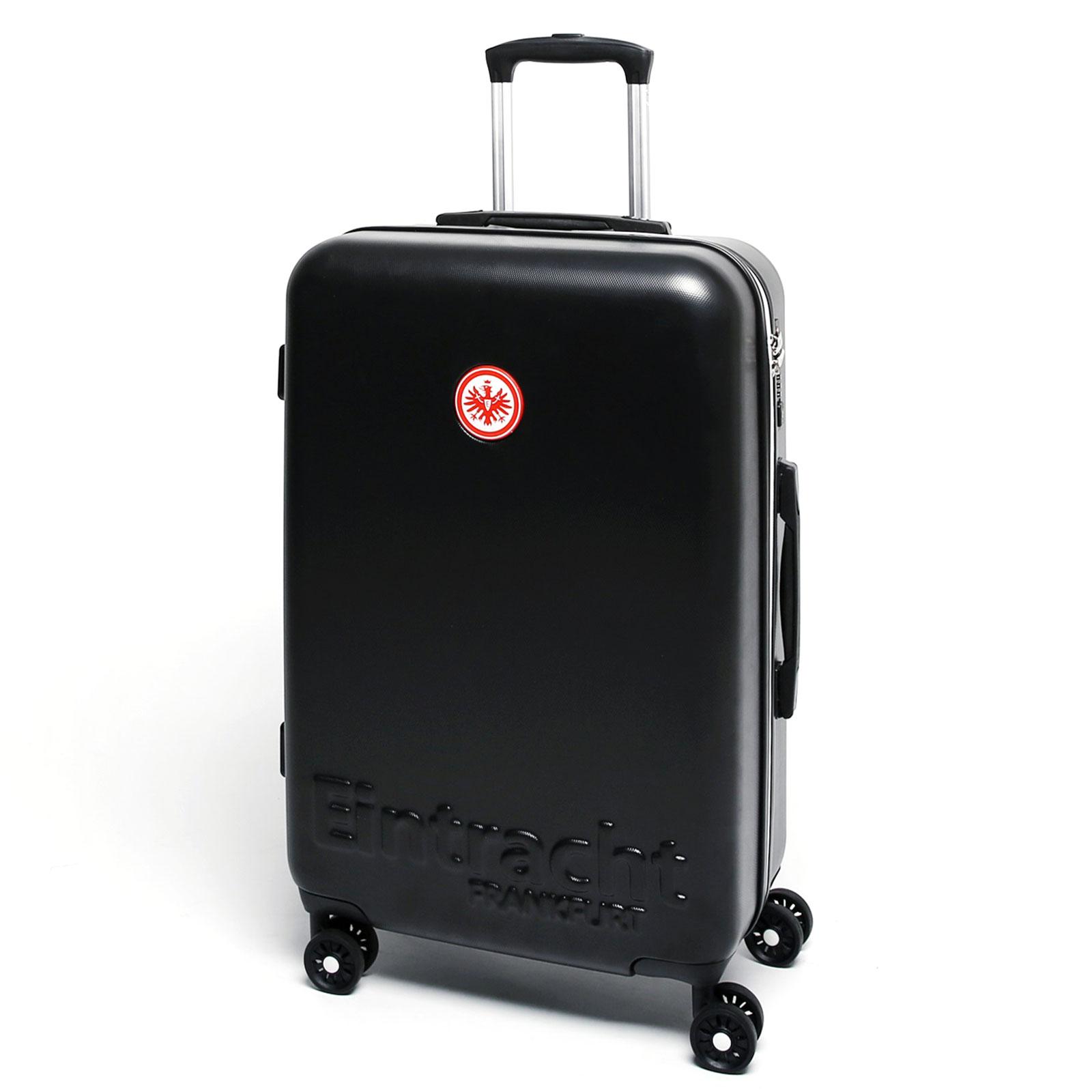 eintracht frankfurt trolley 67 cm 4 rollen g nstig kaufen koffermarkt. Black Bedroom Furniture Sets. Home Design Ideas