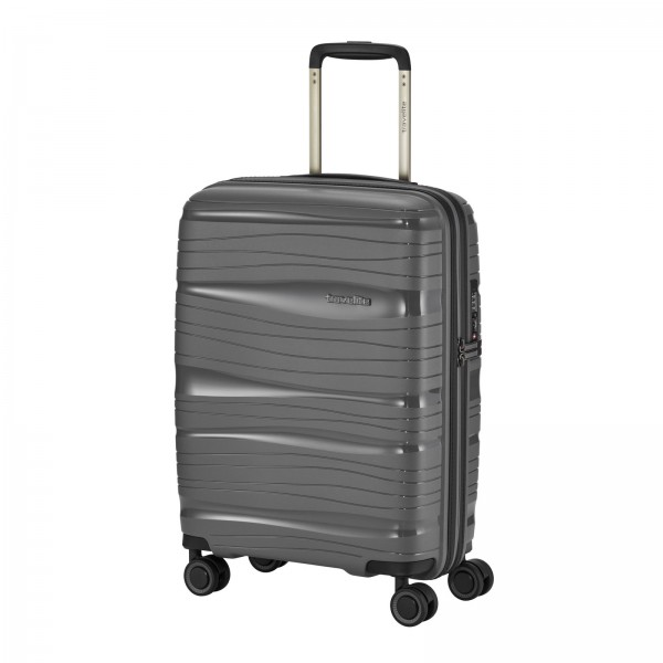 travelite Motion Kabinentrolley 55 cm 4 Rollen anthrazit