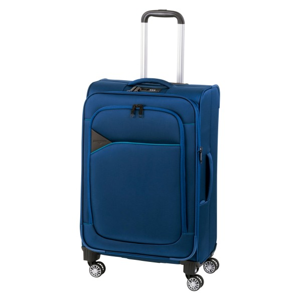 Hardware Skyline 3000 Modell 2017 Trolley 68 cm 4 Rollen erweiterbar Blue Light Blue