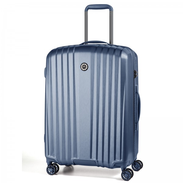 March15 Everest Trolley 67 cm 4 Rollen mid blue Frontansicht