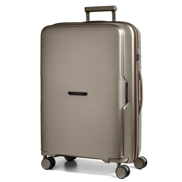 March15 Bel Air Trolley 72 cm 4 Rollen silver bronze / creme accent