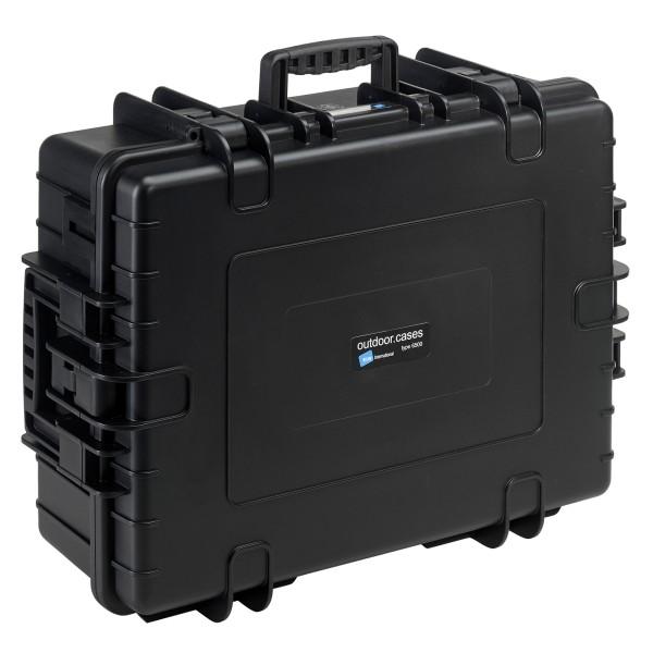 B&W Outdoor Case Typ 6500 Notfallkoffer mit variabler Facheinteilung