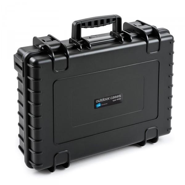 B&W Outdoor Case Typ 6040 black aufrecht geschlossen