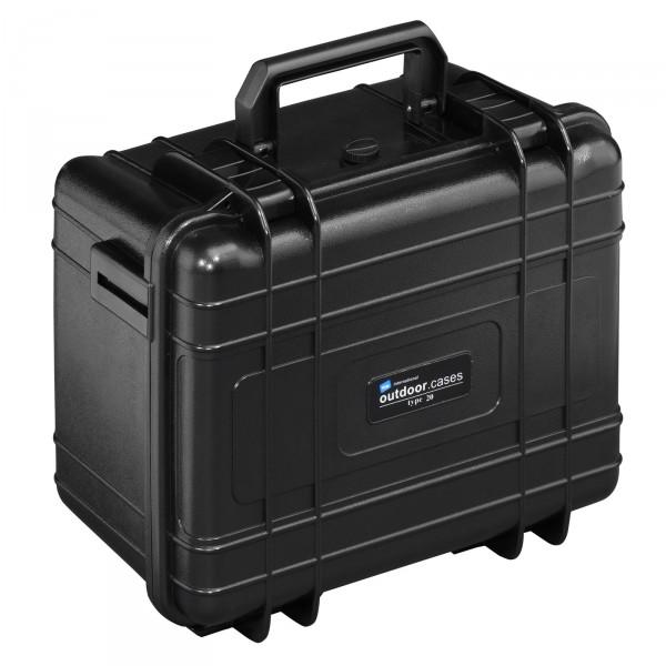 B&W Outdoor Case Typ 20 schwarz - geschlossen