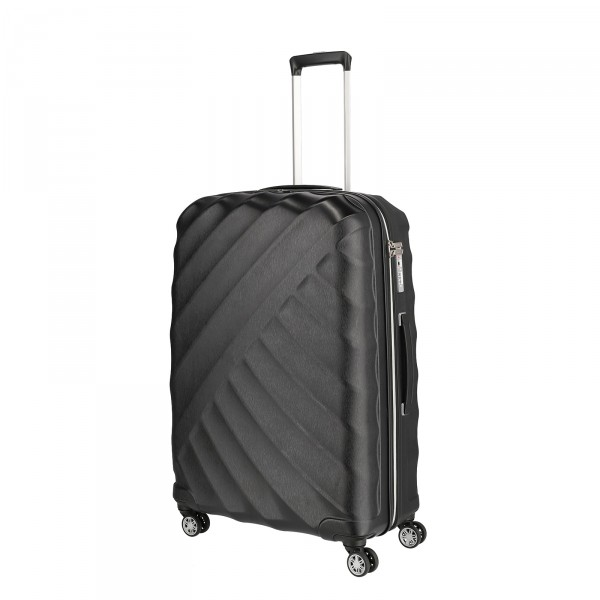 TITAN Shooting Star Trolley 77 cm 4 Rollen black Schrägansicht
