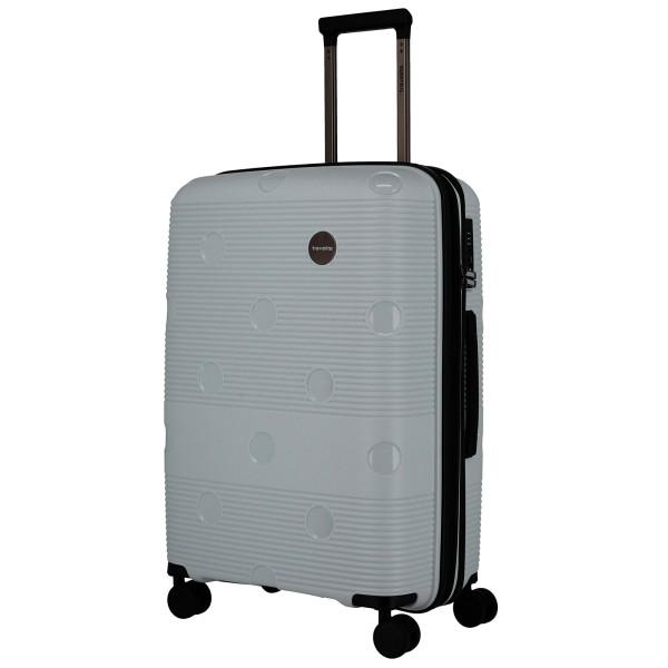 travelite Smarty Trolley 68 cm erweiterbar 4 Rollen mint