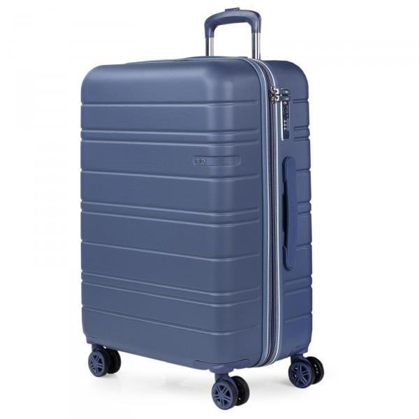 JASLEN San Marino Trolley 68 cm 4 Rollen erweiterbar blue