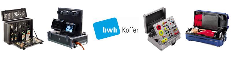 Spezialkoffer für Unternehmen von bwh Koffer