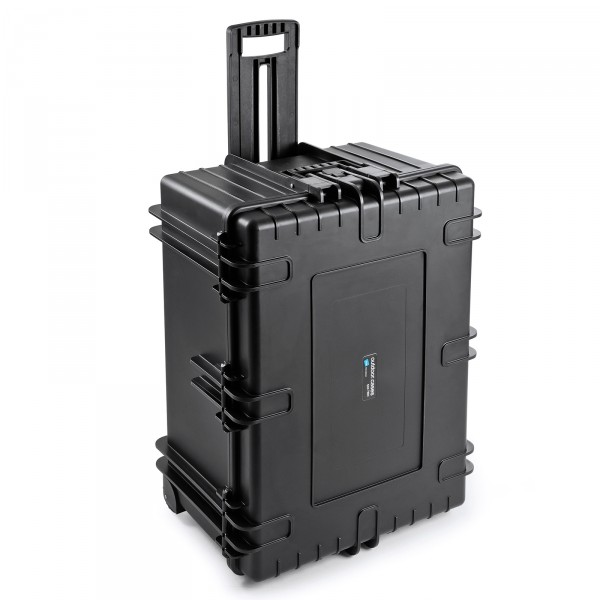 B&W Outdoor Case Typ 7800 2 Rollen black