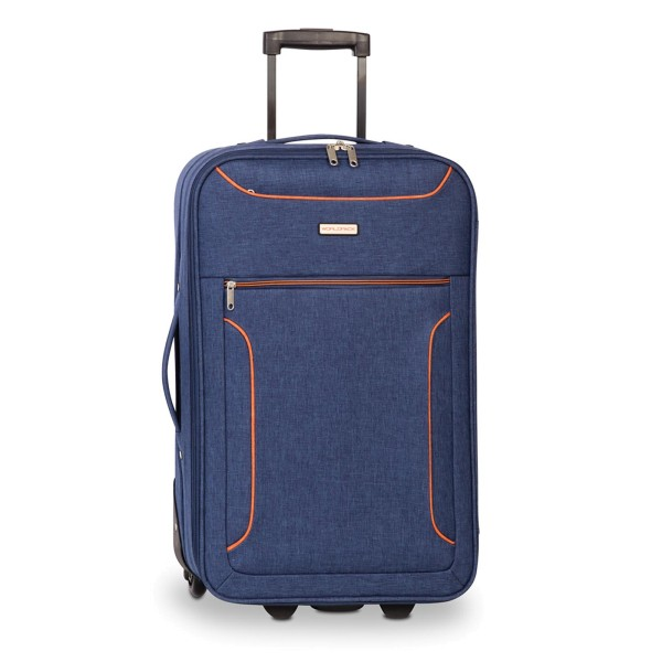 Fabrizio Worldpack Boston Trolley 62 cm 2 Rollen marineblau