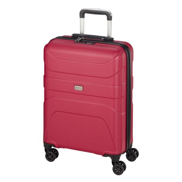 d&n Travel Line 2100 Kabinentrolley 55 cm 4 Rollen pink