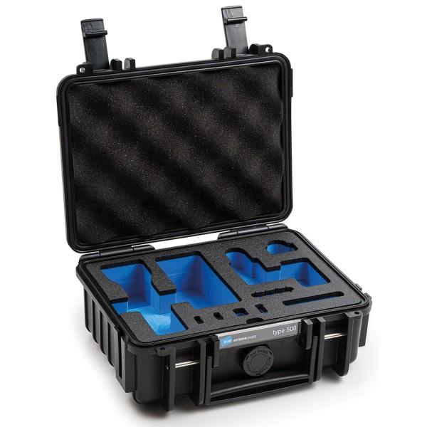 B&W Osmo Case Typ 500 für DJI Osmo Pocket 2 mit Schaumstoffeinsatz black