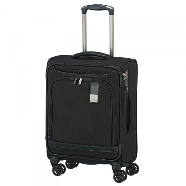 TITAN CEO Kabinentrolley 55 cm 4 Rollen black