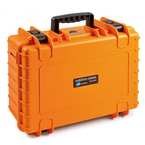B&W Outdoor Case Typ 5000 orange