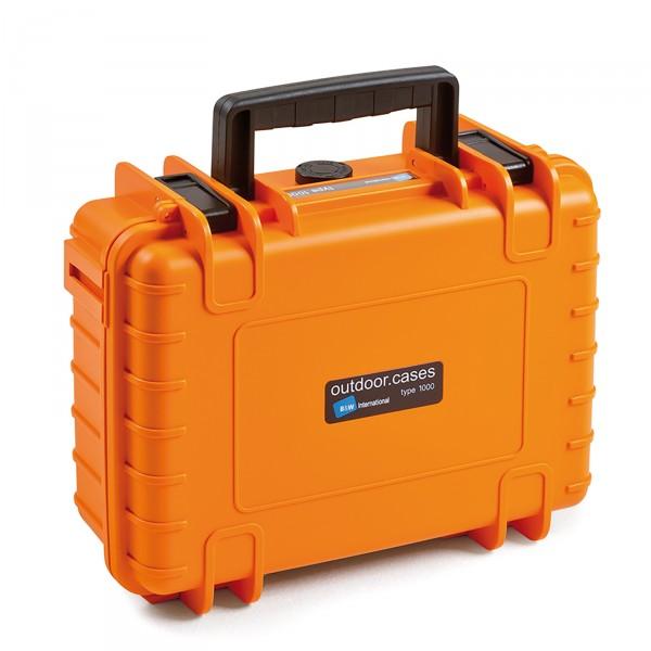 B&W Outdoor Case Typ 1000 orange