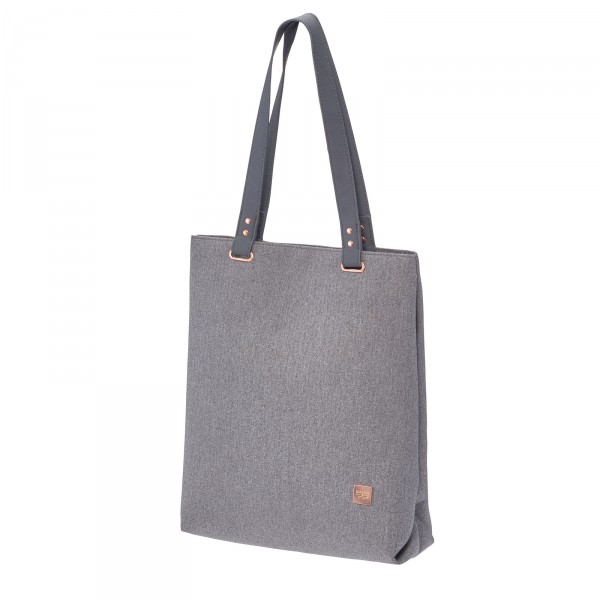 TITAN Barbara Shopper 30 cm grey Schrägansicht