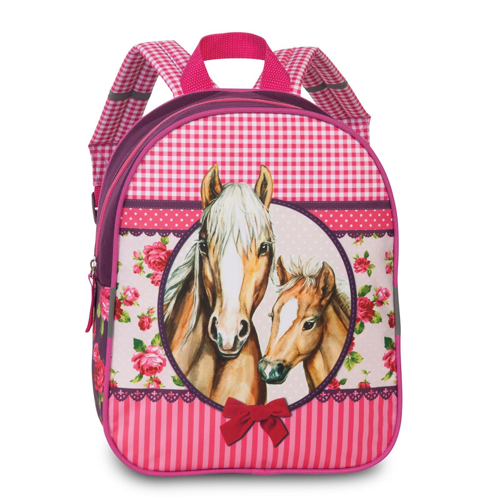 Fabrizio Kids Pferde Rucksack 29 cm 7 l - Pferde Pink 20618-2200