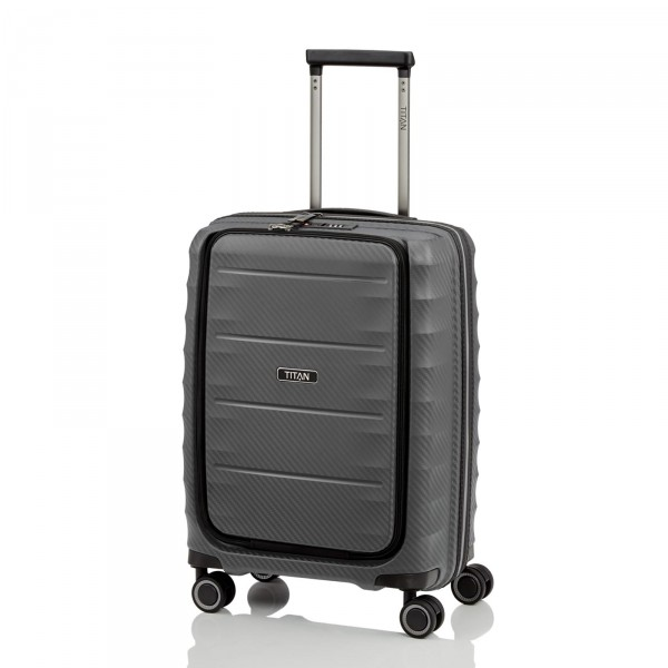 TITAN Highlight Business-Trolley 55 cm 4 Rollen Anthracite