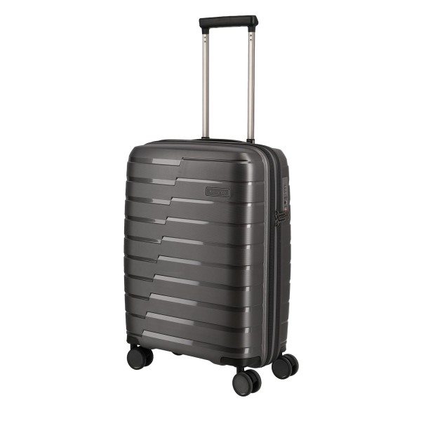 travelite Air Base Kabinentrolley 55 cm 4 Rollen anthrazit