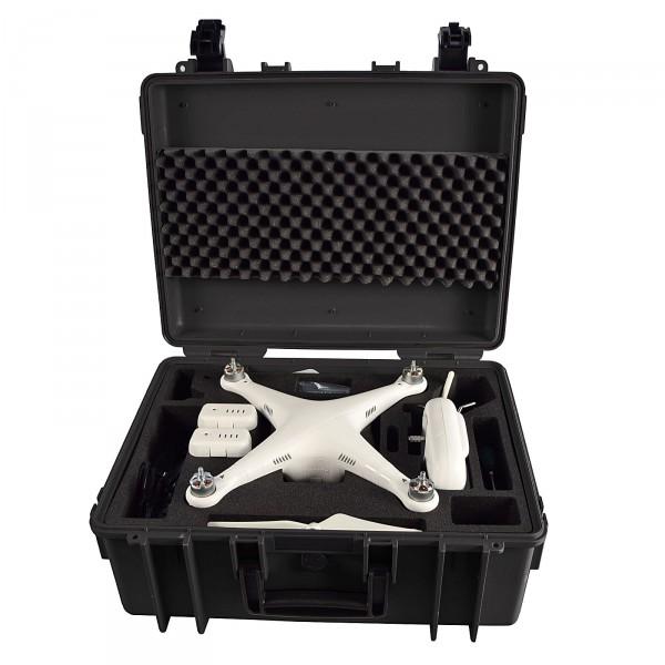 B&W Copter Case Typ 6000 schwarz für DJI Phantom 2 Vision