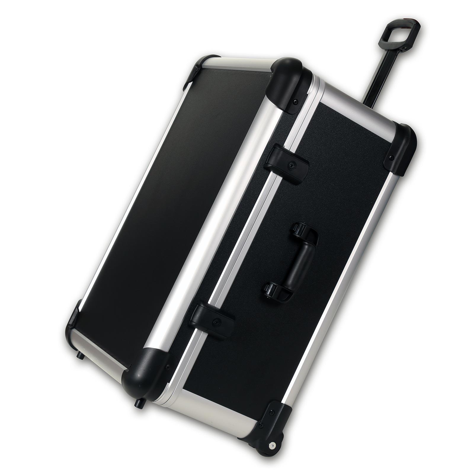 bwh Koffer CoolCase Transportkoffer L mit 4 Rollen 0 l - Schwarz 51300