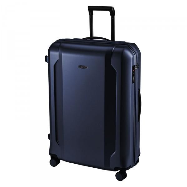 d&n Travel Line 8100 Trolley 75 cm 4 Rollen blau Schrägansicht