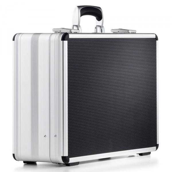 bwh Koffer Alu-Zargenkoffer AZKE Typ 6 schwarz - Vorderansicht