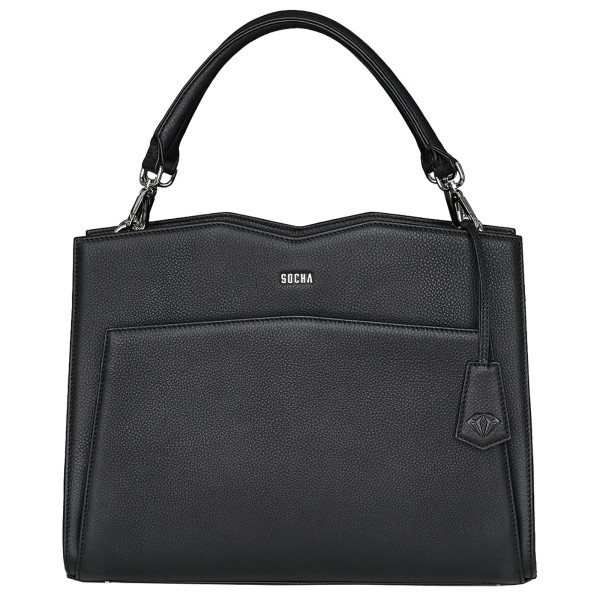 SOCHA Diamond Shoulder Bag Business-Handtasche 39 cm