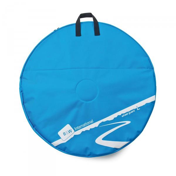 B&W Wheel Guard L Laufradtasche blau